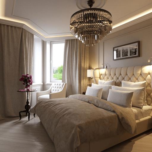 Спальня в американському стилі