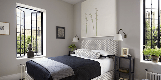 Маленька спальня в американському стилі