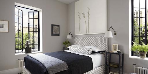 Маленькая спальня в американском стиле