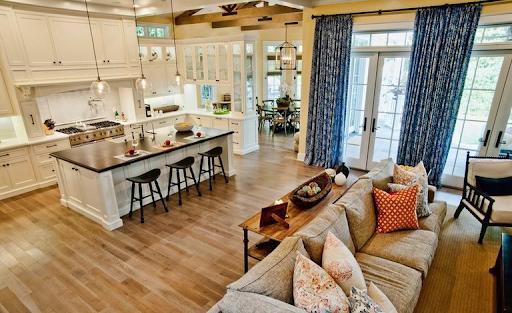Американський дизайн інтер'єру квартири-студії