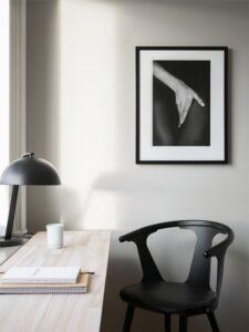 Деревяный стол для домашнего кабинета