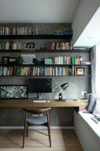 Серый цвет стен