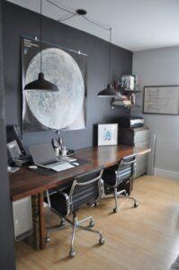 Современный дизайн рабочего стола