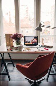 Пример дизайна рабочего стола