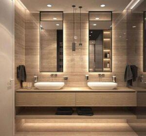 Зеркало в ванній